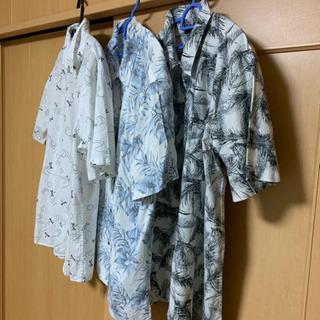 👕夏物 メンズ   5L 3点 新品 半袖シャツ