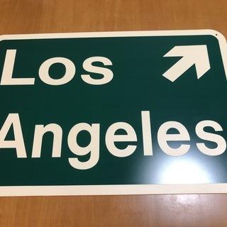 LA アメリカン雑貨 標識