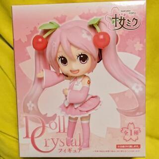 値下げ!桜ミク Doll Crystalフィギュア