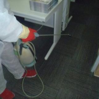 ウィルス感染予防!店舗、オフィスなどの消毒作業
