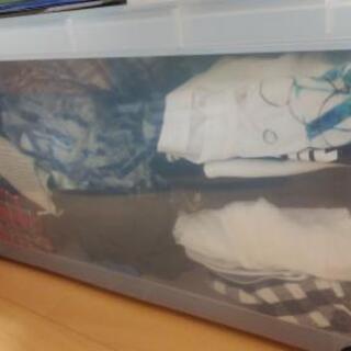 レディース服 衣装ケース2個分あります