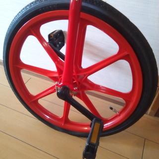 一輪車の画像