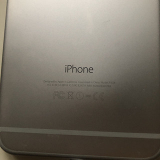 iPhone 6 Plus Silver 64 GB SIM フリー