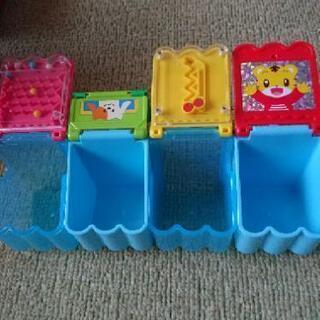 赤ちゃんおもちゃ5点セット 木製の木琴、型はめ車、手押し車、木馬...
