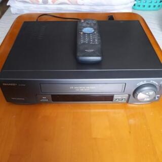 SHARP VHSビデオデッキ