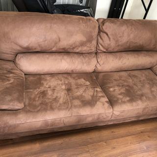 大型ソファークリーニング