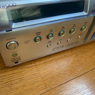 ケンウッド MD.mp3 コンポ CDは故障 - 家電