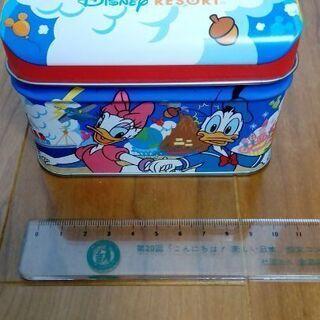 【メルカリ出品有】ディズニークッキーが入っていた空き缶