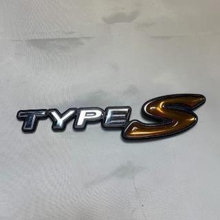 TYPE S エンブレム
