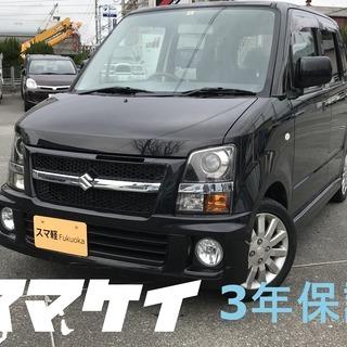 スマ軽 3年保証 車検付き ワゴンR RR-Di 黒076