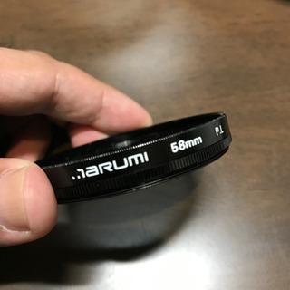 【marumi】PLフィルター58mm