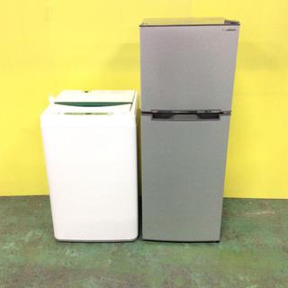 セットでお得!冷蔵庫・洗濯機 単身用 2017年製 ★送料・設置...
