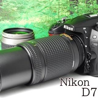 ②☆超望遠ダブルレンズ☆すぐに使用可能☆ニコン Nikon D7...
