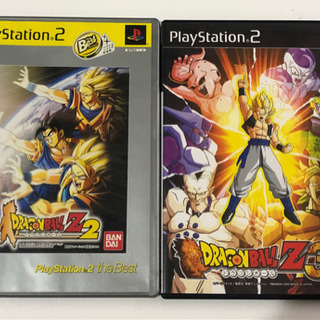 PS2 ドラゴンボールZ2  ドラゴンボールZ3
