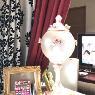 テーブルランプ シャンデリア 姫部屋 ロココ