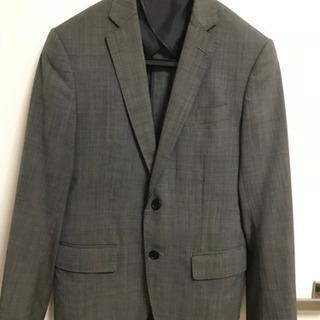 【最終価格】スーツ上下(夏用、色:グレー)