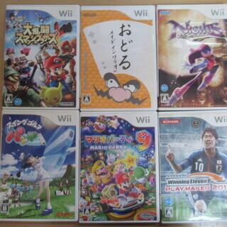 Wiiソフトまとめ6点セット スイングゴルフ:テクモ / おどる...