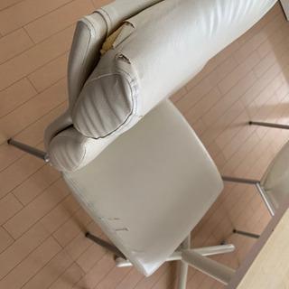 【引渡者決定】期間限定⭐️ダイニングテーブル×椅子4脚セットUSED  - 家具