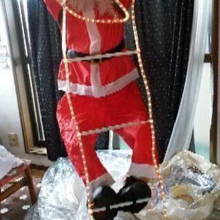サンタクロースの装飾品(値下げ)