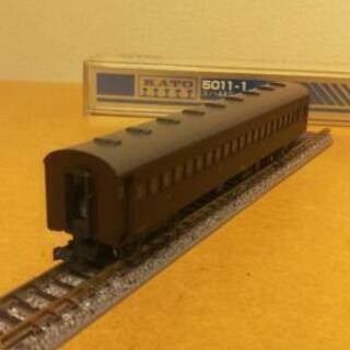 KATO【スハ44茶】鉄道模型・Nゲージ