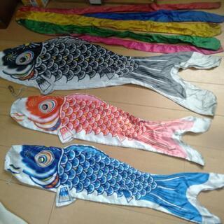 鯉のぼり ホームセット中古品