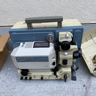 映写機のセット