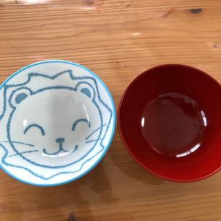 子供用お茶碗&汁碗セット