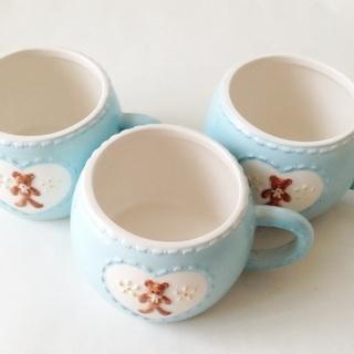クマ コーヒーカップ 3点セット