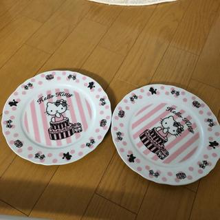 ハローキティ 大皿 2枚