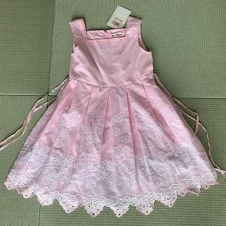 【新品 タグ付き】メゾピアノ ワンピース ☆ドレス 120cm