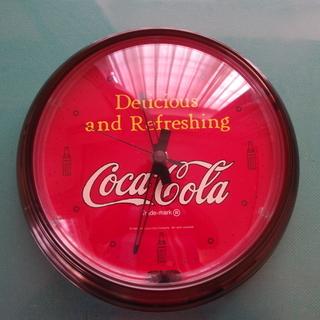 お取引中:コカコーラネオン掛け時計