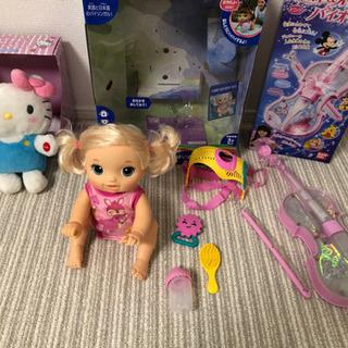 女の子のおもちゃセット