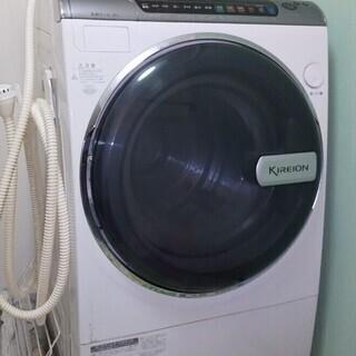 ドラム式洗濯機 SHARP ES-V300 KIREION 【中...