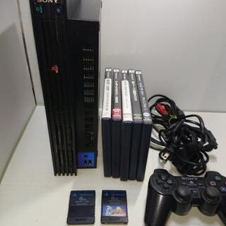 (B) PS 2 30000+ソフト5本
