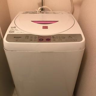 シャープ 洗濯機 5.5kg