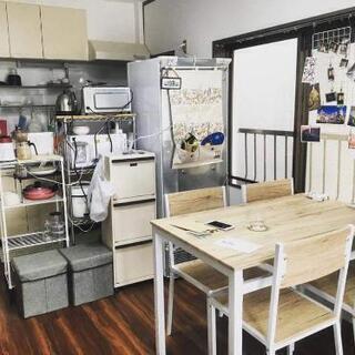 ダイニングテーブル+椅子4つ - 目黒区