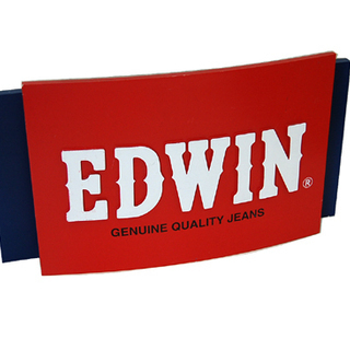 EDWIN/エドウィン 店頭販促品 木製看板 片面 オブジェ イ...