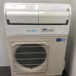 三菱 33畳 8.0kw 自動お掃除付き 冷暖房インバーターエア...