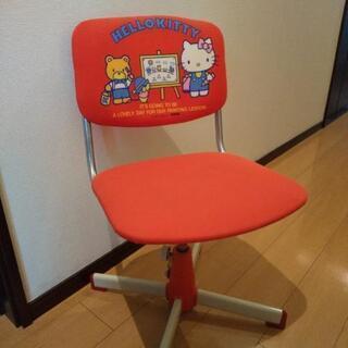 キティ 学習椅子 くろがね