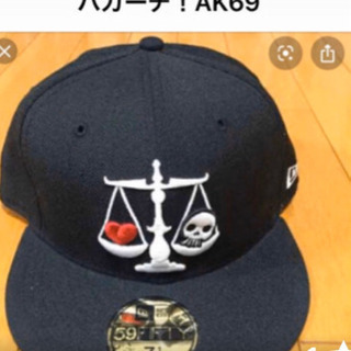 希少!AK69 バガーチのキャップ✨
