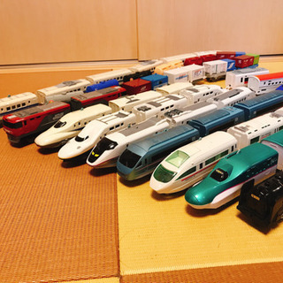 トミカ プラレール 新幹線 9台セット