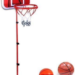 ミニ バスケットゴール子供用 高さ調整可能 150cm ボール付き