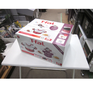 【新品未開封】T-fal クリプソ ミニット デュオ 4.2L ...