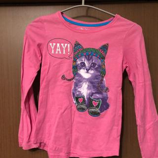 女児用 子供服 Tシャツ サイズM