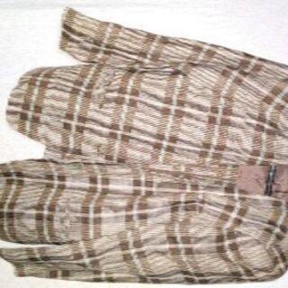 女性向けジャケット(古着)(生地:麻100%)の画像