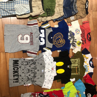 男の子夏物衣料110サイズ