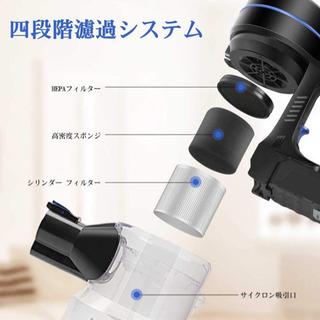 【新品未使用】コードレス掃除機 10kpa モーターヘッド搭載 ...