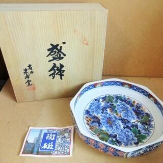 ☆有田焼 波佐見 和食器 8号盛鉢 古伊万里竜田川◆食卓に温かみを