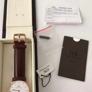 期間限定価格 新品未使用ダニエルウェリントン時計