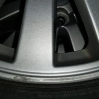 ダイハツ純正ホイール、タイヤ付き4本セットの画像